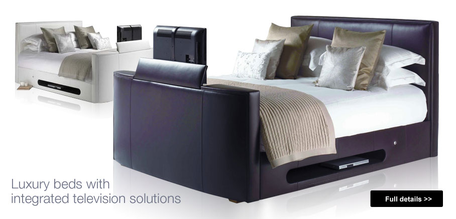 Worldwisetrading luxury beds with integrated tv for Beds with televisions